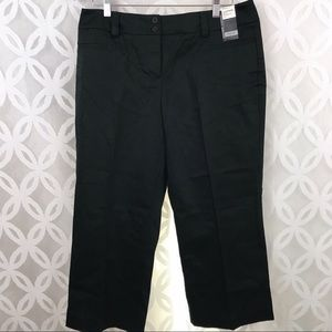 Apt. 9 Stretch Career Sport Ava Cropped Pant NWT